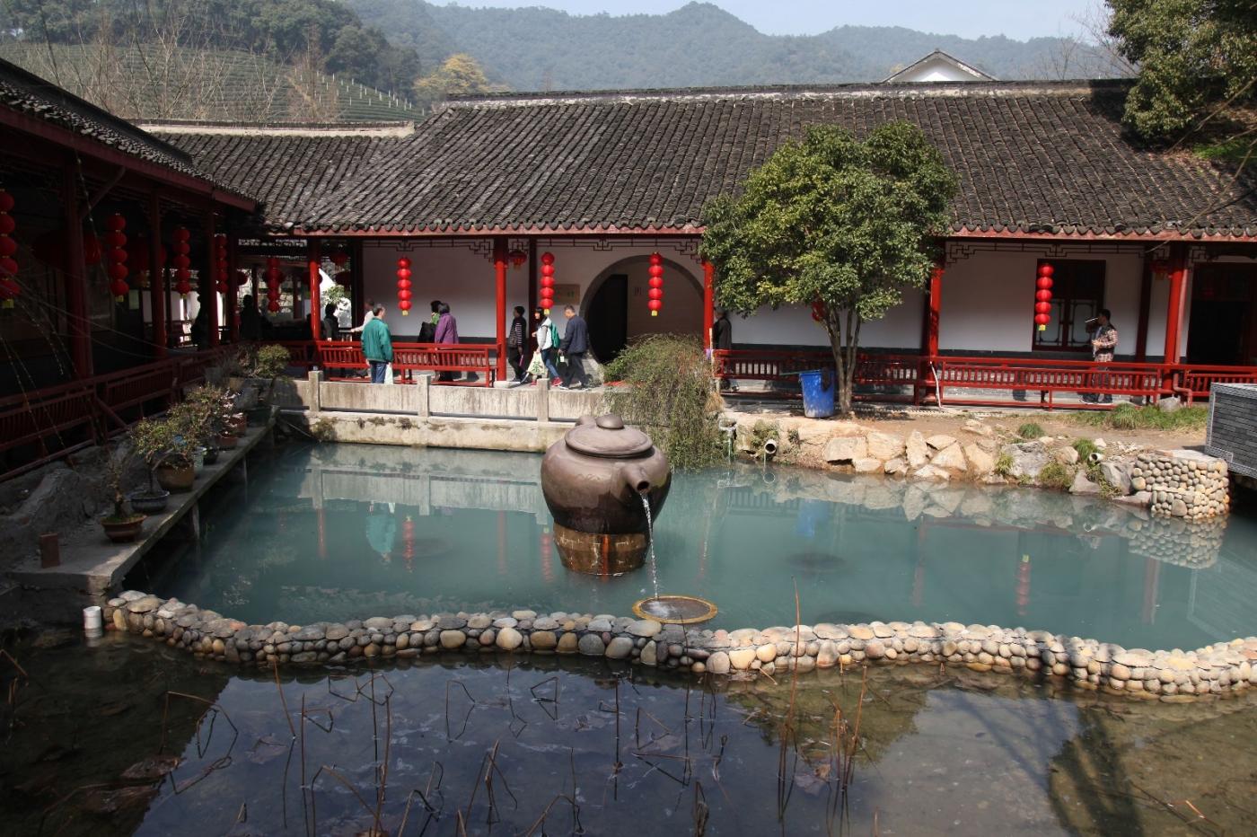 游杭州梅家坞茶场,品西湖龙井茶_图1-3
