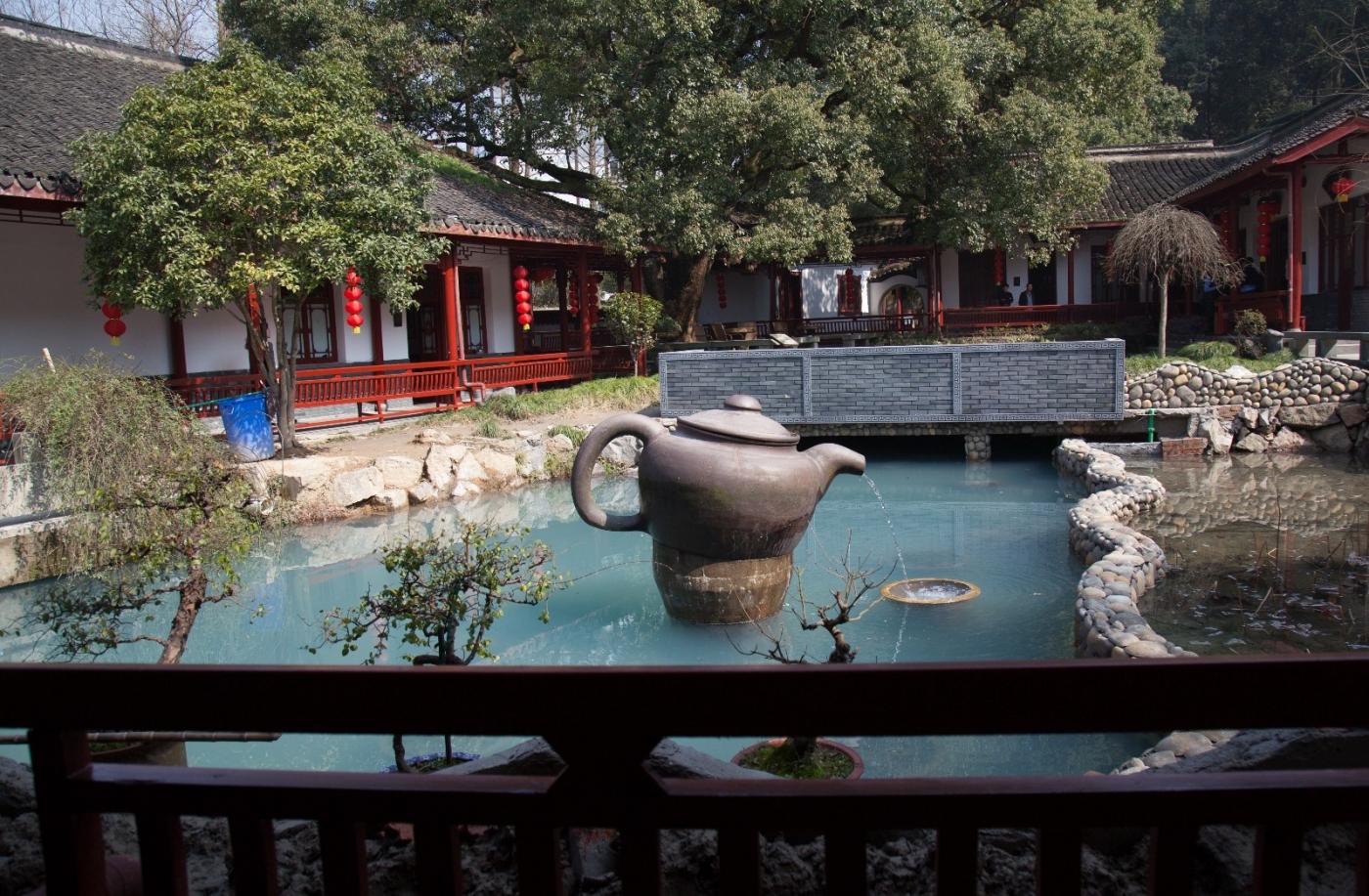 游杭州梅家坞茶场,品西湖龙井茶_图1-19