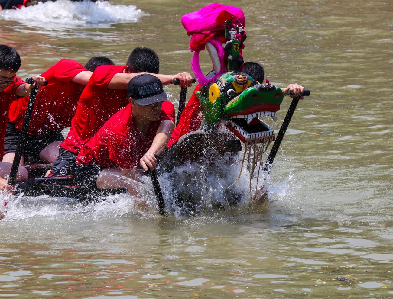 西溪龙舟文化节_图1-2