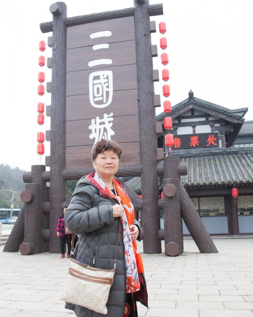 游无锡央视影视基地,观三国沙场大战演出_图1-2