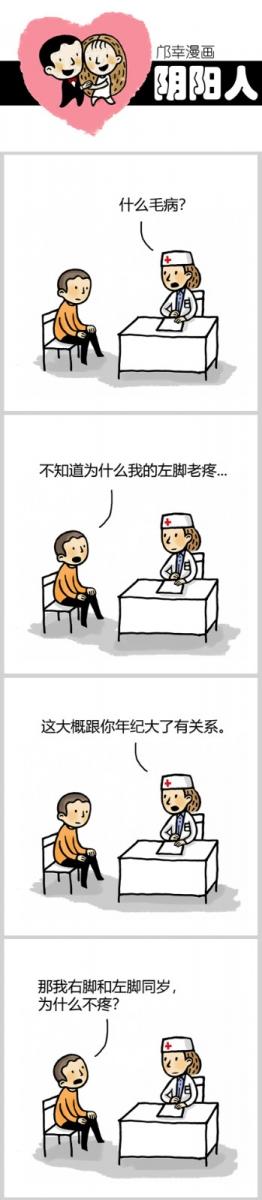 【邝幸漫画】《阴阳人》同齡_图1-1