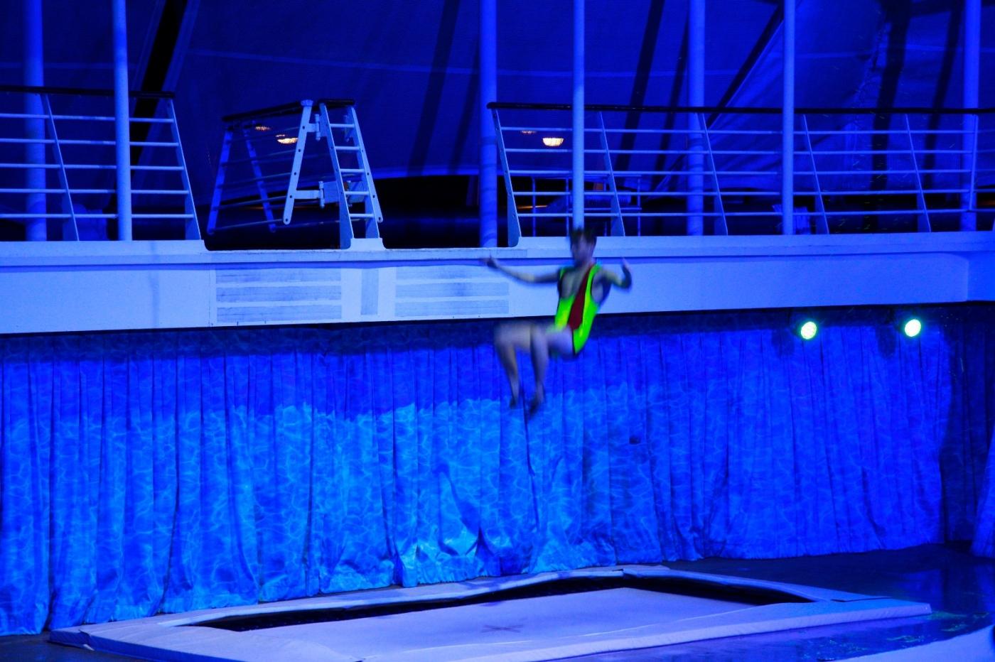 在海洋绿洲号游轮观看高台跳水秀_图1-10