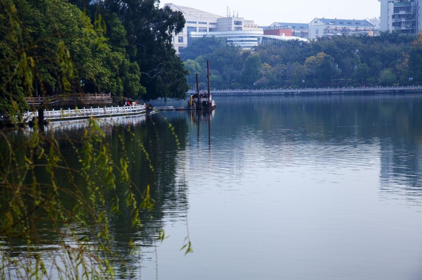 福州西湖公园,美景如画,赏心悦目,流连忘返_图1-4