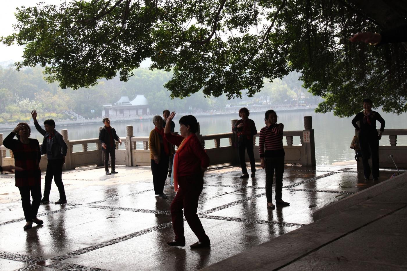 福州西湖公园,美景如画,赏心悦目,流连忘返_图1-33