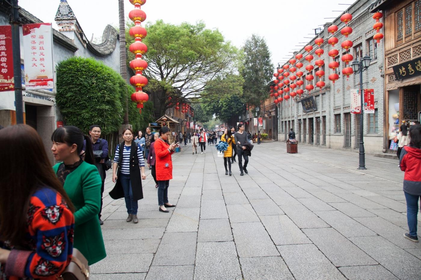 三坊七巷是福州市的旅游胜地_图1-22