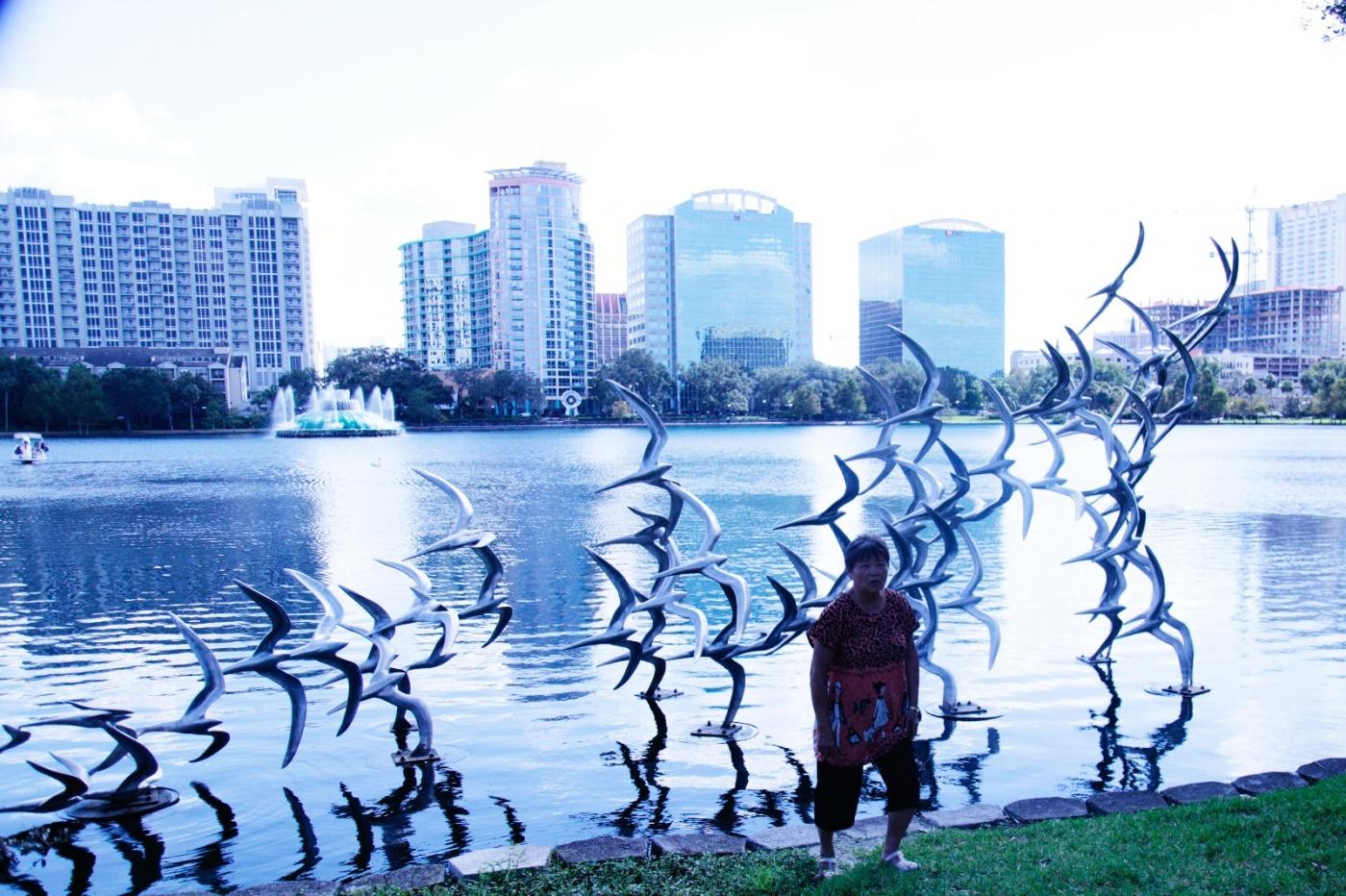 游佛罗里达奥兰多湖边公园_图1-10