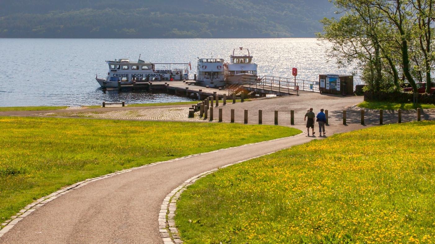苏格兰见闻,岸边的情与色_图1-2