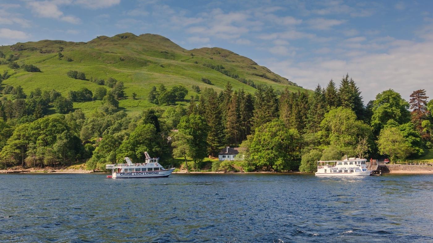 苏格兰见闻,岸边的情与色_图1-9