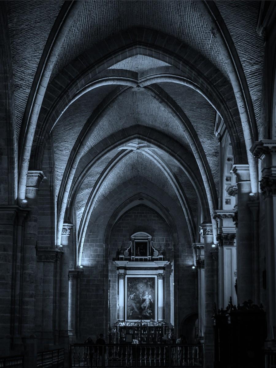 西班牙巴伦西亚主教堂,看不完的珍品_图1-1