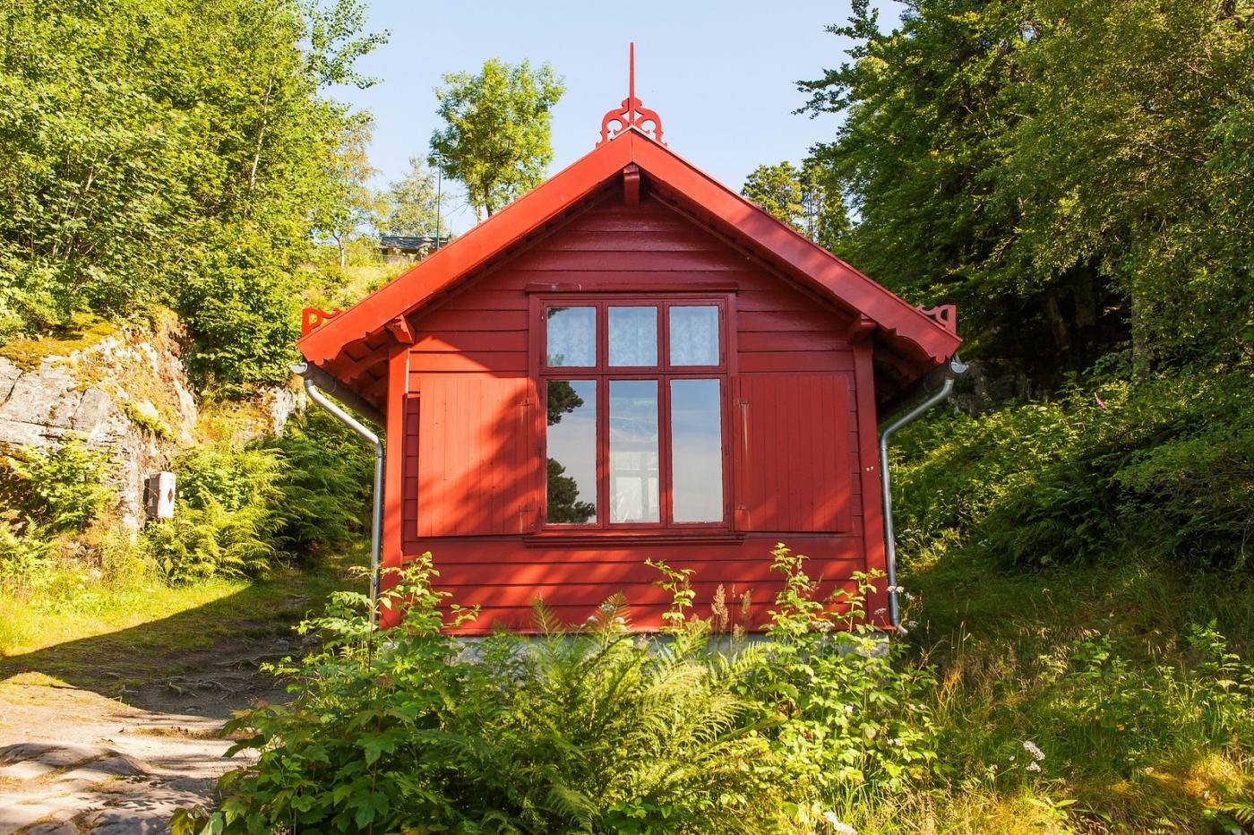 挪威作曲家爱德华-格里格,故居环境很漂亮_图1-15