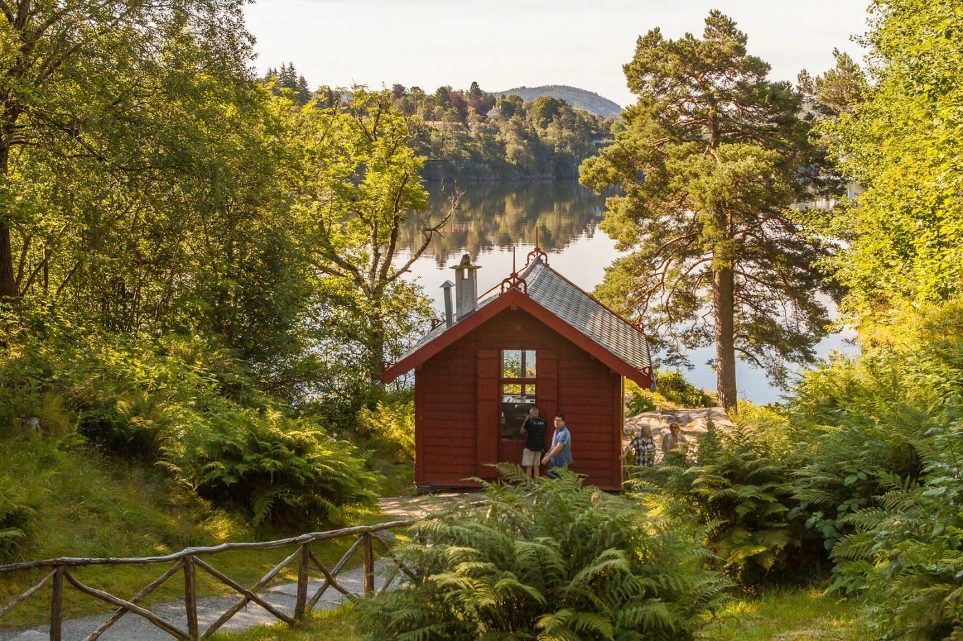 挪威作曲家爱德华-格里格,故居环境很漂亮_图1-12