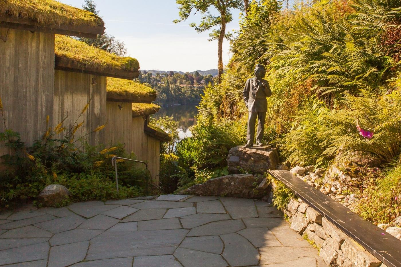 挪威作曲家爱德华-格里格,故居环境很漂亮_图1-8