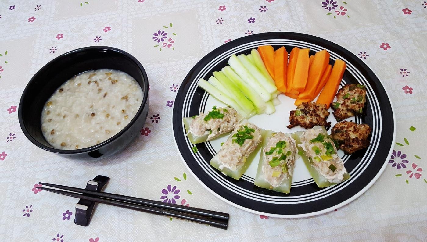[田螺随拍]分享我做给女儿吃的夏日午餐三_图1-1