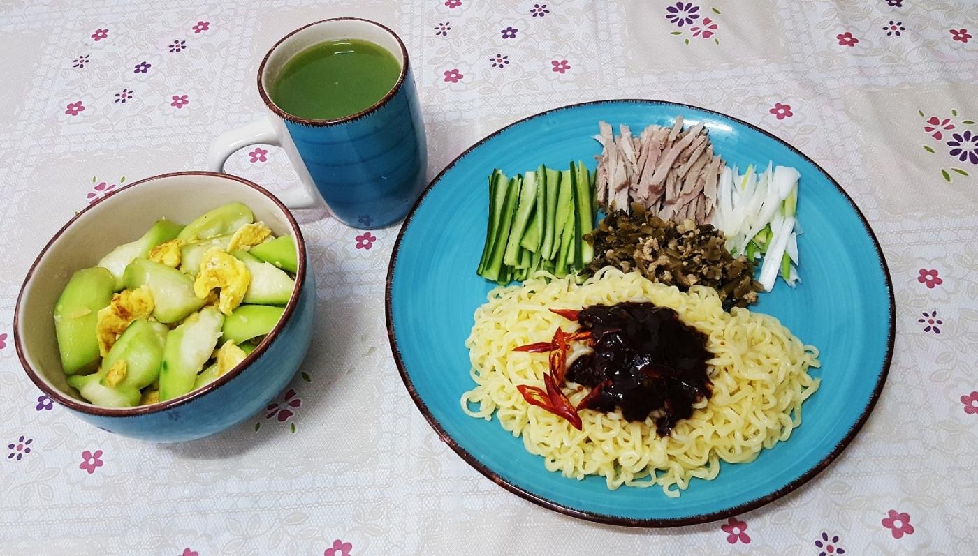 [田螺随拍]分享我做给女儿吃的夏日午餐三_图1-5