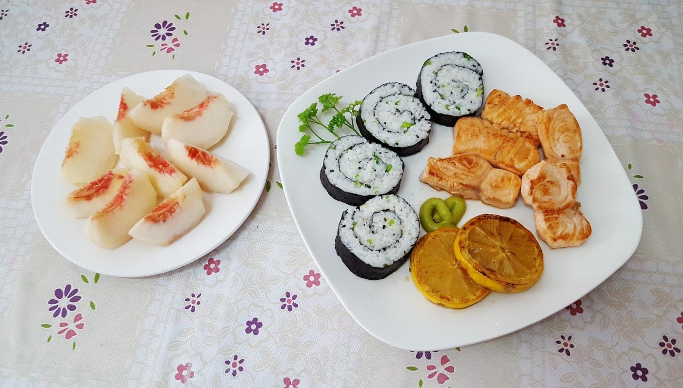 [田螺随拍]分享我做给女儿吃的夏日午餐三_图1-6