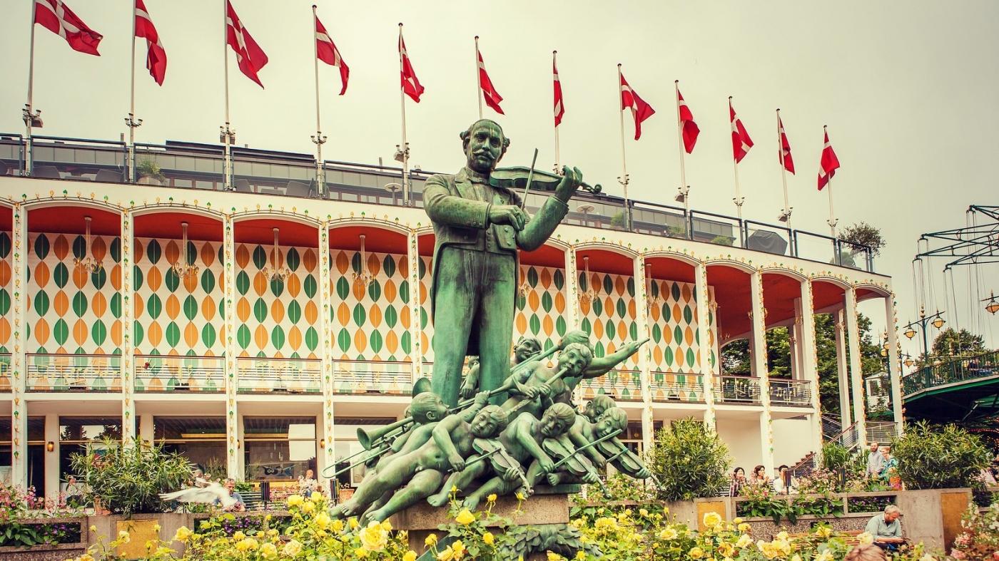 哥本哈根趣伏里古老主题公园,园内中国元素_图1-14