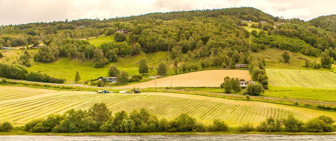 北欧风光,俯瞰小镇面貌_图1-5
