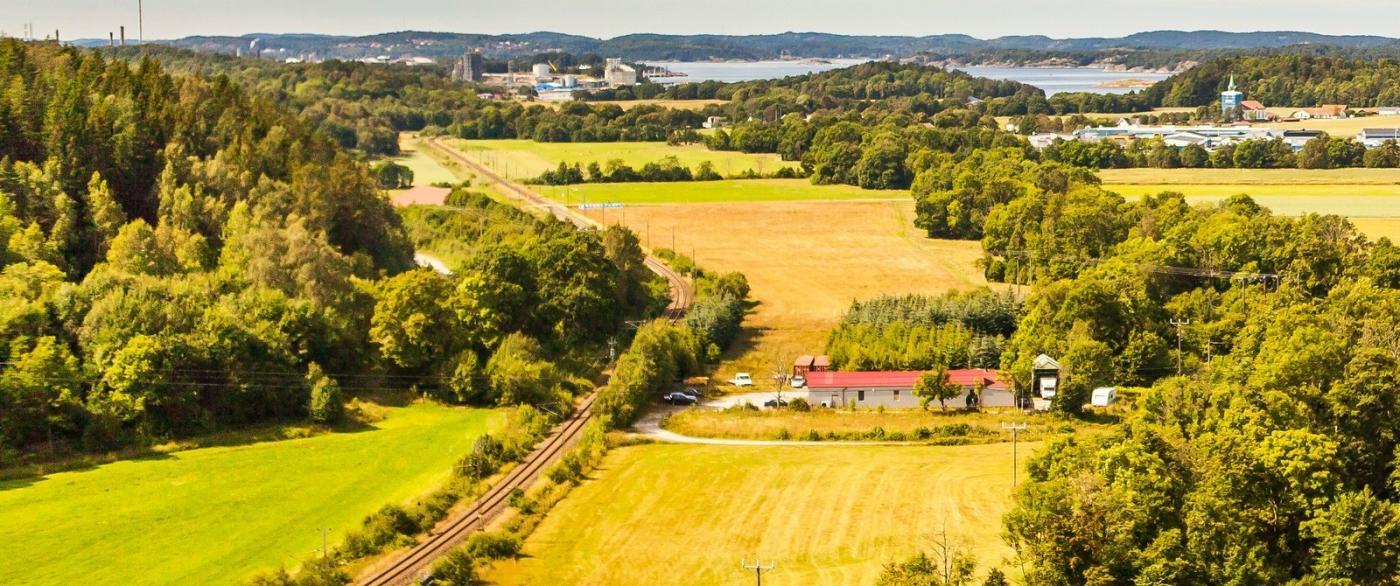 北欧风光,俯瞰小镇面貌_图1-4