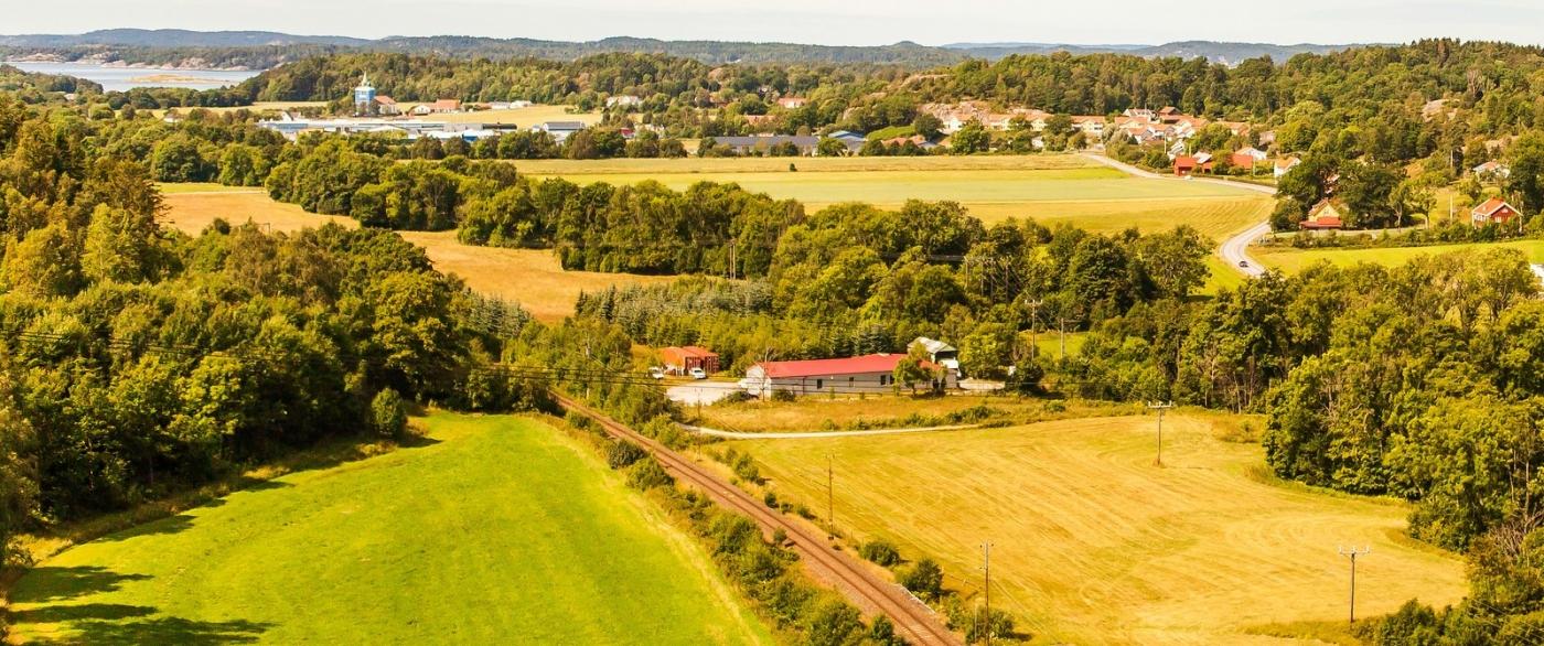 北欧风光,俯瞰小镇面貌_图1-10