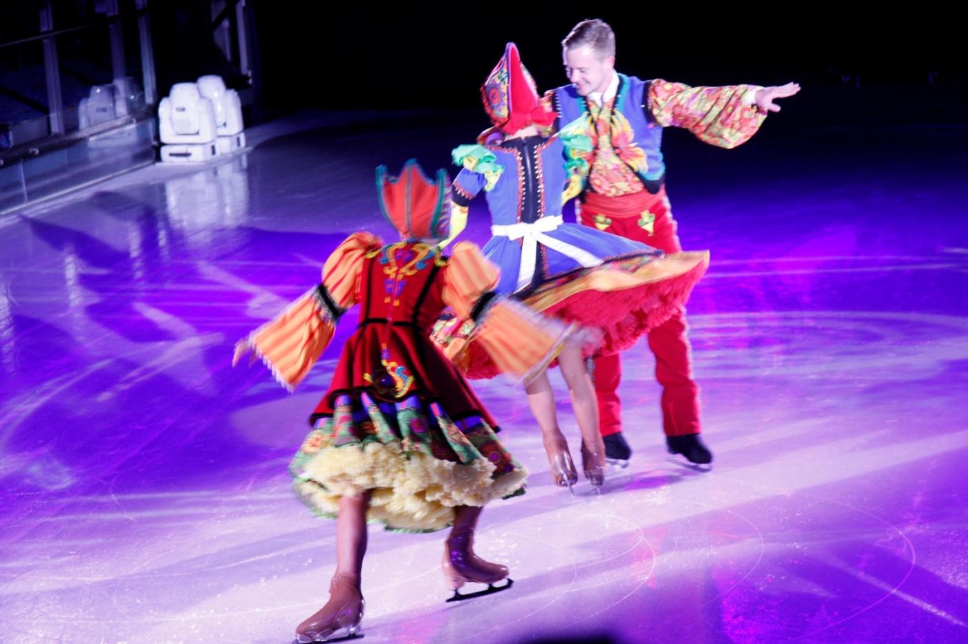 在海洋绿洲号游轮,观看冰上芭蕾,花样溜冰专场演出_图1-11