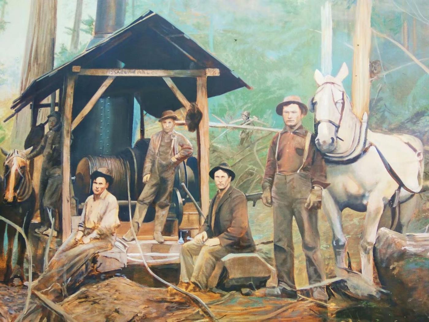 美国小镇街边壁画(图)_图1-5
