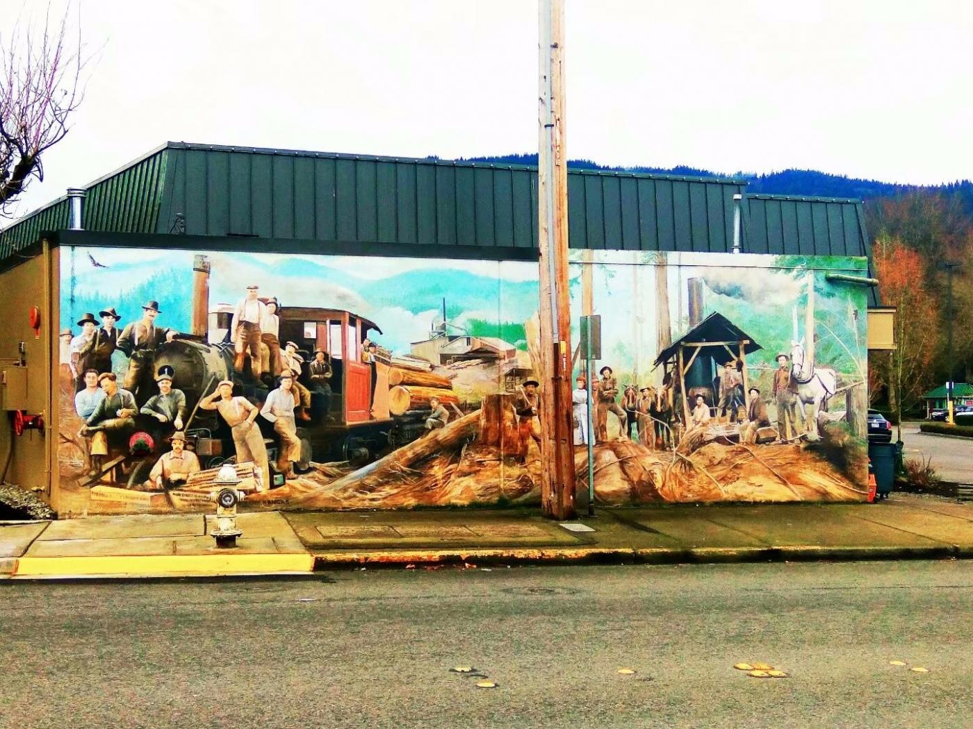 美国小镇街边壁画(图)_图1-8