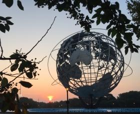 去可乐娜公园看日出