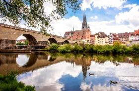 雷根斯堡老城区--德国