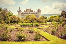苏格兰Inveraray城堡,气魄非凡