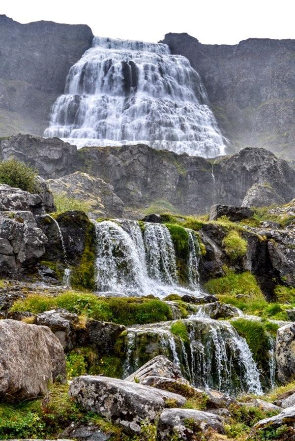 冰岛三日行之----Dynjandi瀑布_图1-9