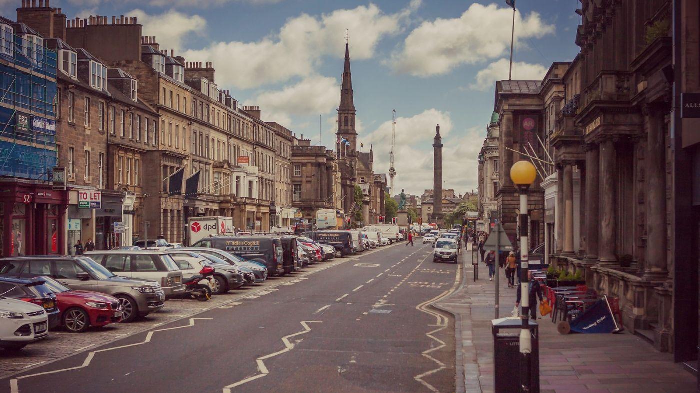 苏格兰爱丁堡,十字路口看风景_图1-10