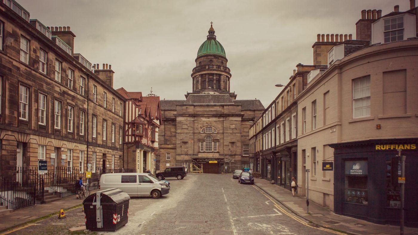 苏格兰爱丁堡,十字路口看风景_图1-9