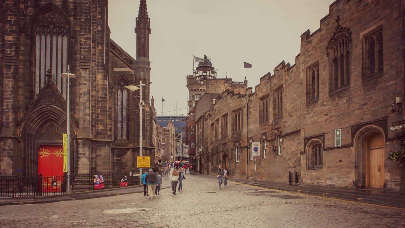 苏格兰爱丁堡,十字路口看风景_图1-6