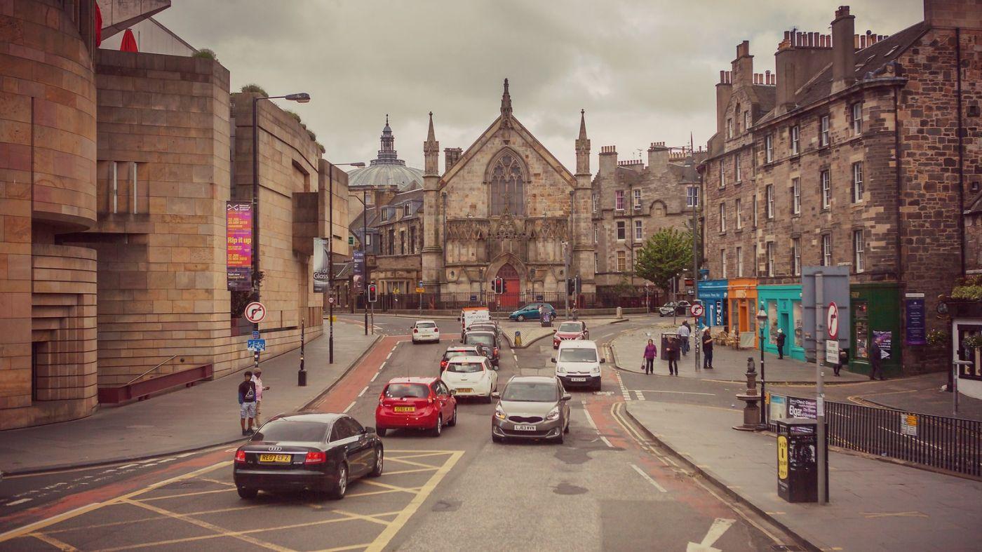 苏格兰爱丁堡,十字路口看风景_图1-4