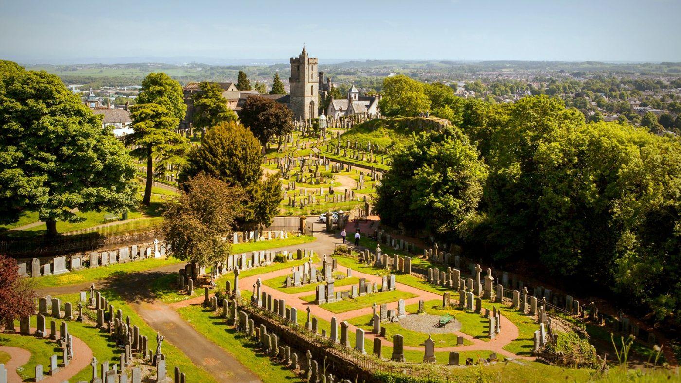 苏格兰斯特灵城堡,远处的风景_图1-12