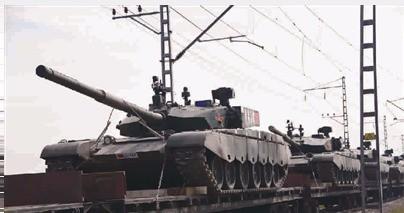 俄军沙场点兵 中方实力参演_图1-1