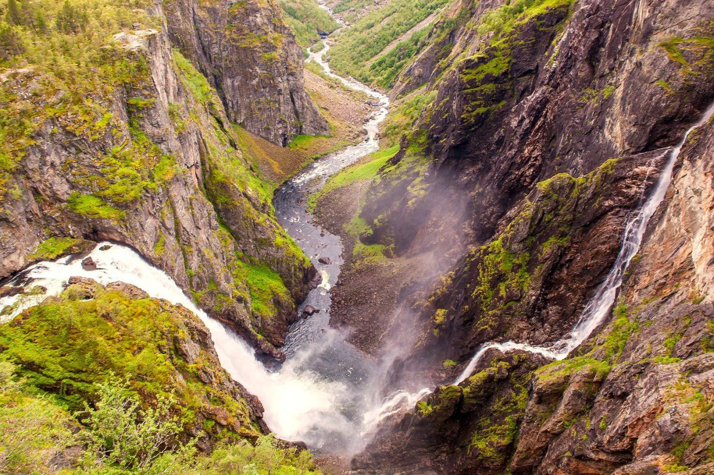 北欧风光,高山瀑布一泻千里_图1-1