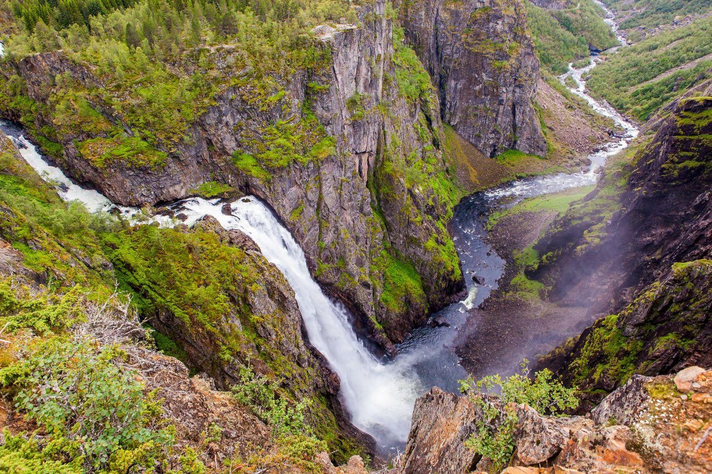 北欧风光,高山瀑布一泻千里_图1-10
