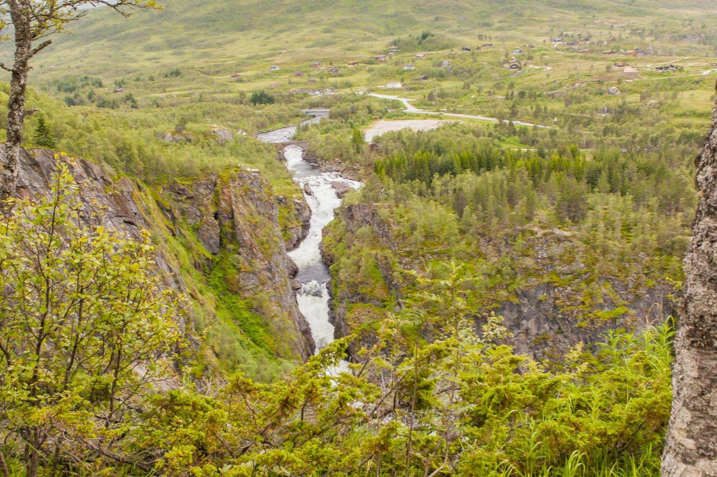 北欧风光,高山瀑布一泻千里_图1-7