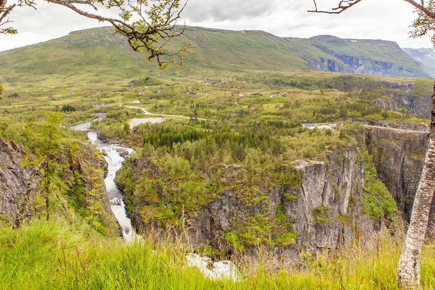 北欧风光,高山瀑布一泻千里_图1-5