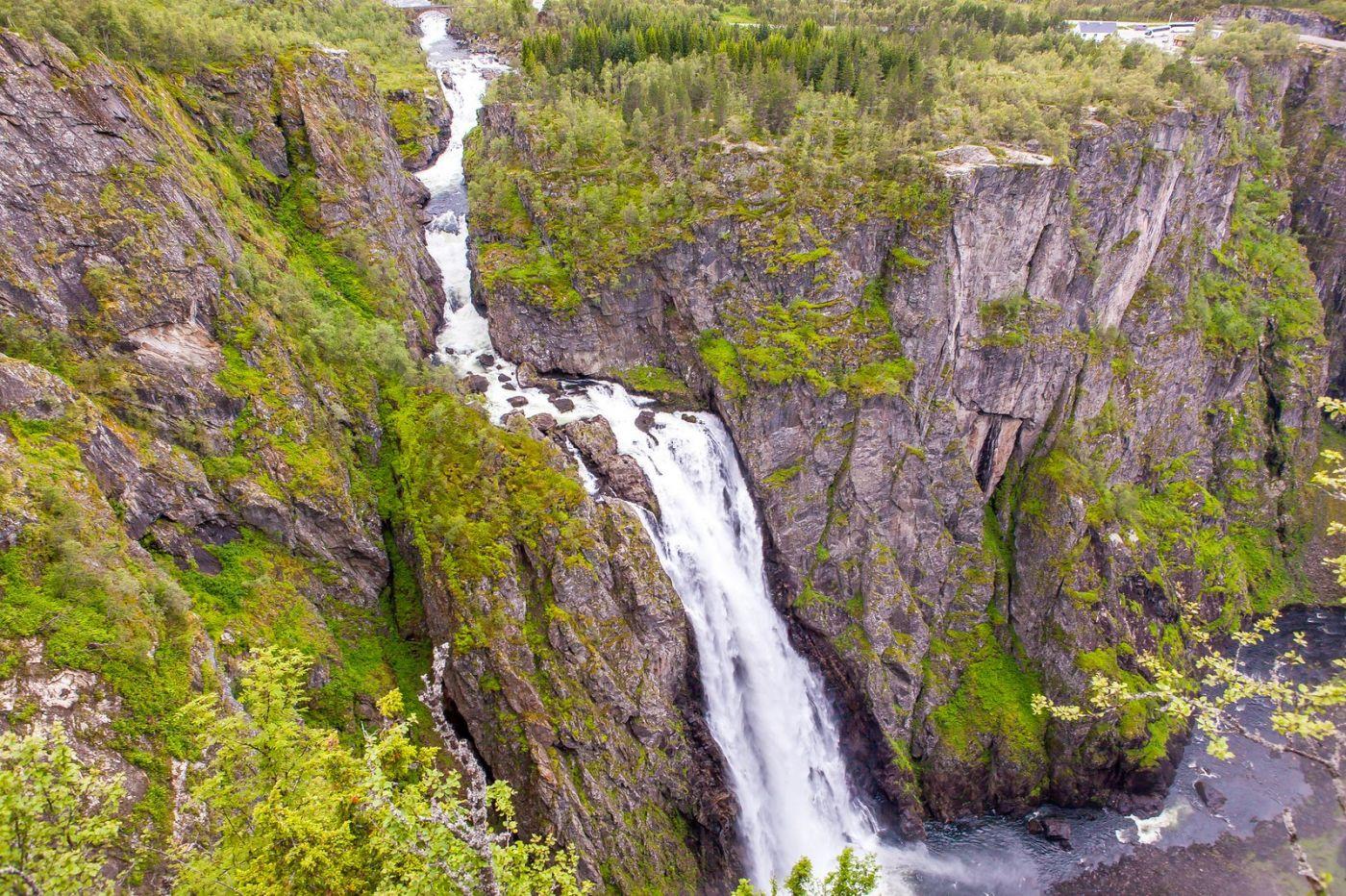 北欧风光,高山瀑布一泻千里_图1-2