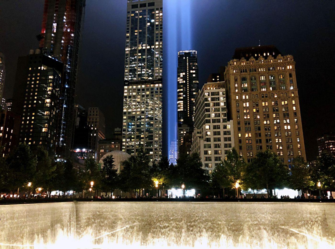 【田螺手机摄影】拍摄灯柱纪念911恐襲17周年_图1-6