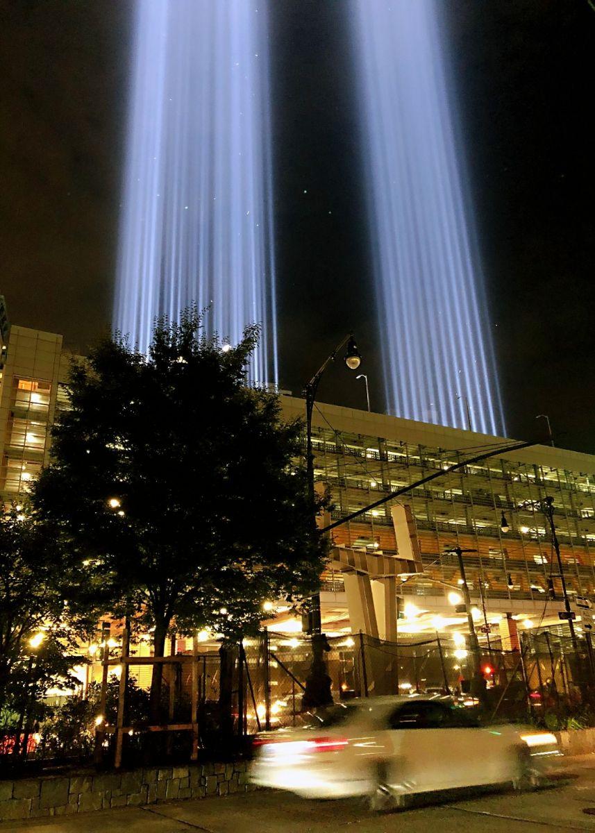 【田螺手机摄影】拍摄灯柱纪念911恐襲17周年_图1-12