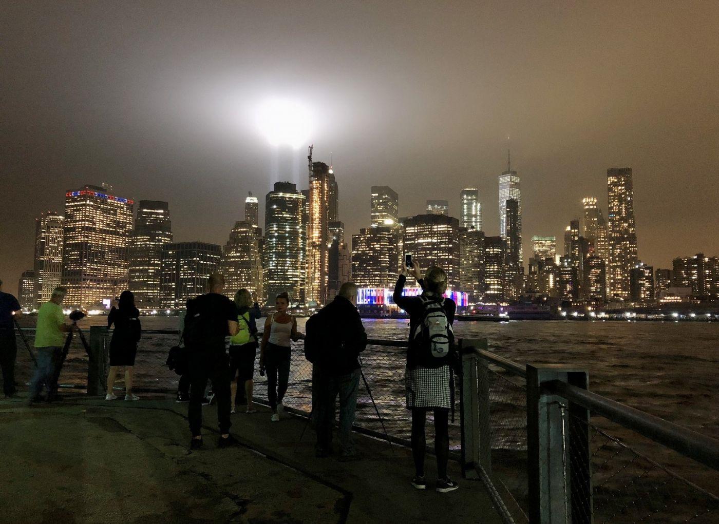 【田螺手机摄影】拍摄灯柱纪念911恐襲17周年_图1-14