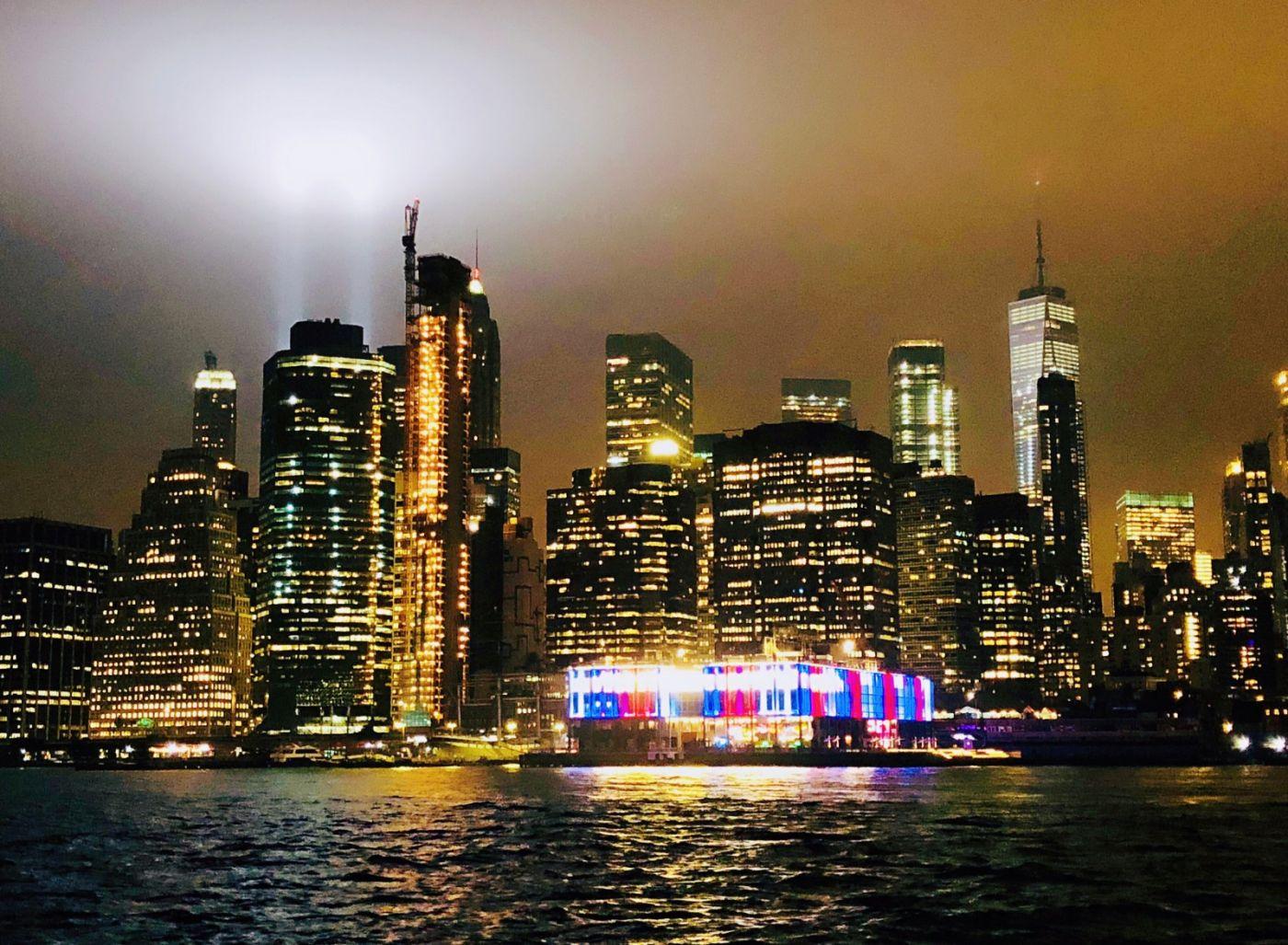 【田螺手机摄影】拍摄灯柱纪念911恐襲17周年_图1-13