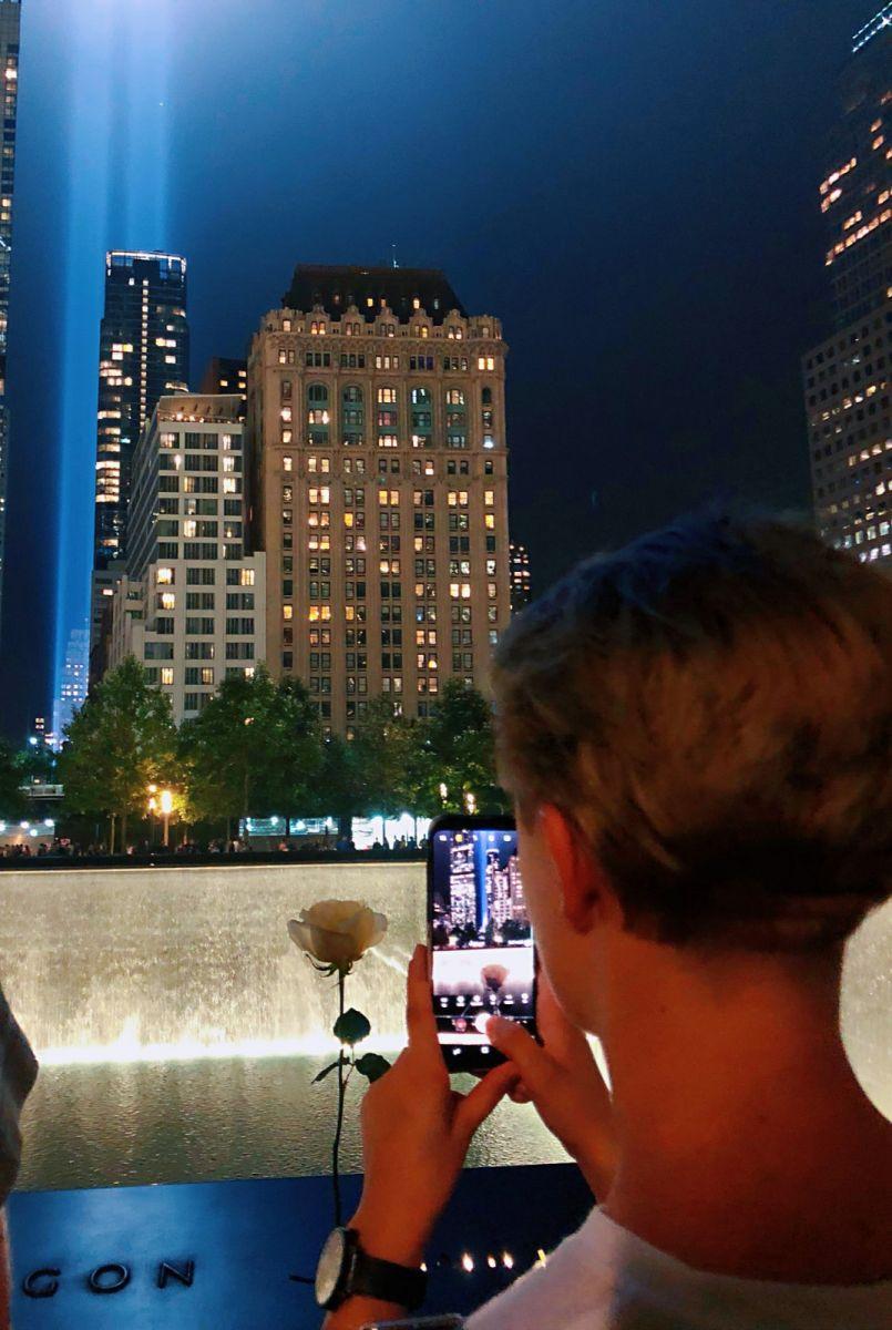 【田螺手机摄影】拍摄灯柱纪念911恐襲17周年_图1-9