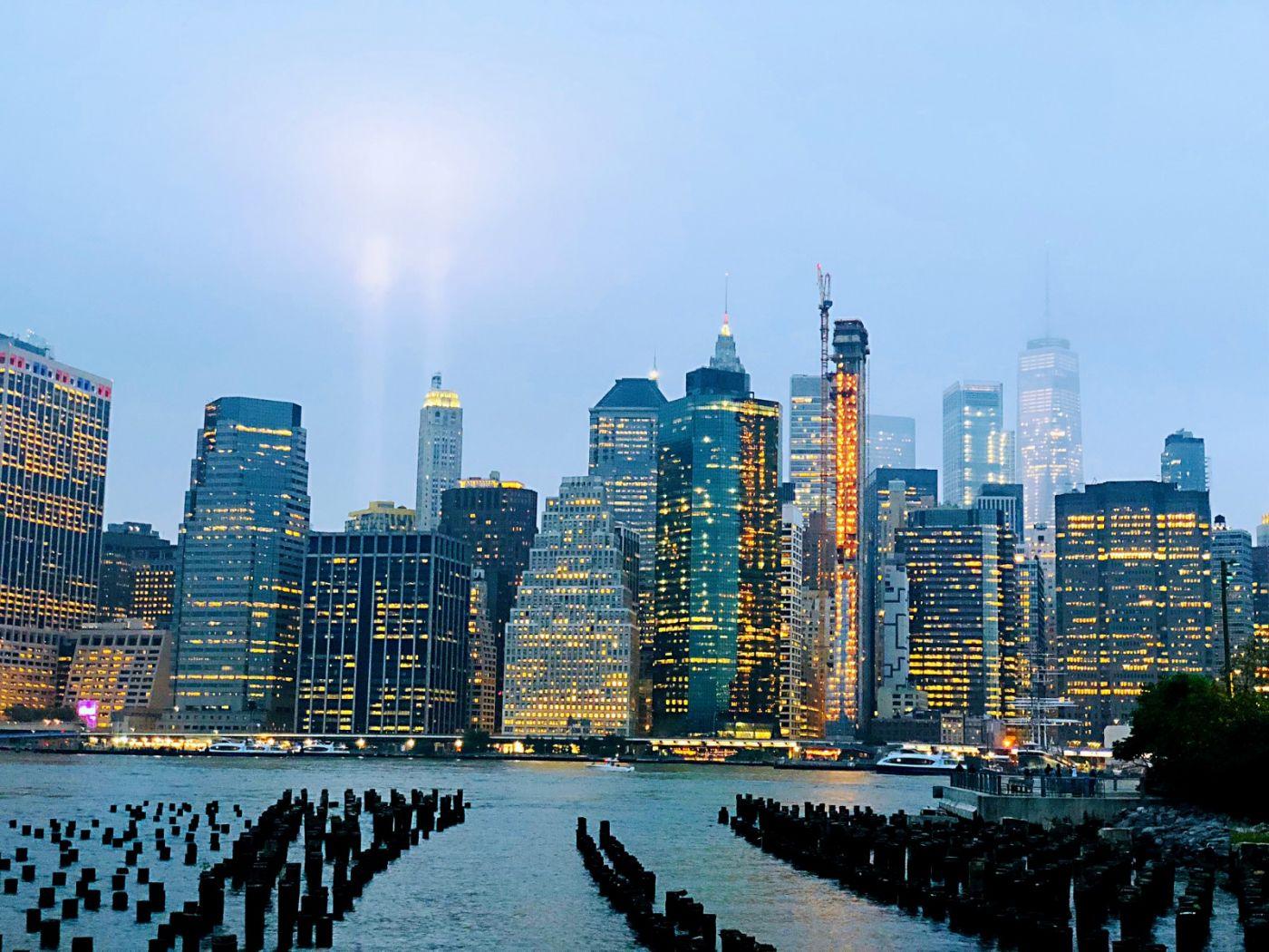 【田螺手机摄影】拍摄灯柱纪念911恐襲17周年_图1-15