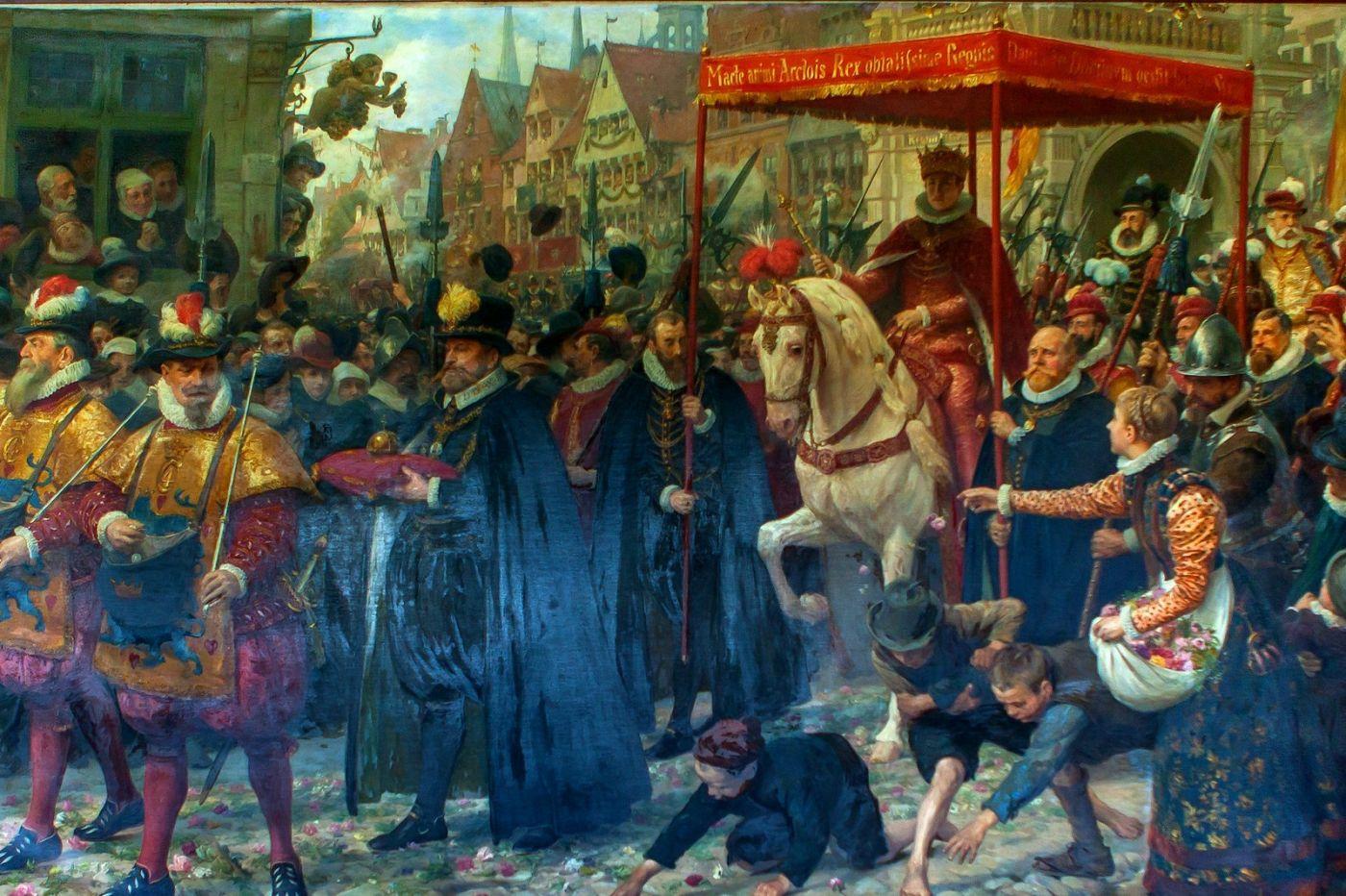 丹麥腓特烈堡城堡,油畫里的故事_圖1-14