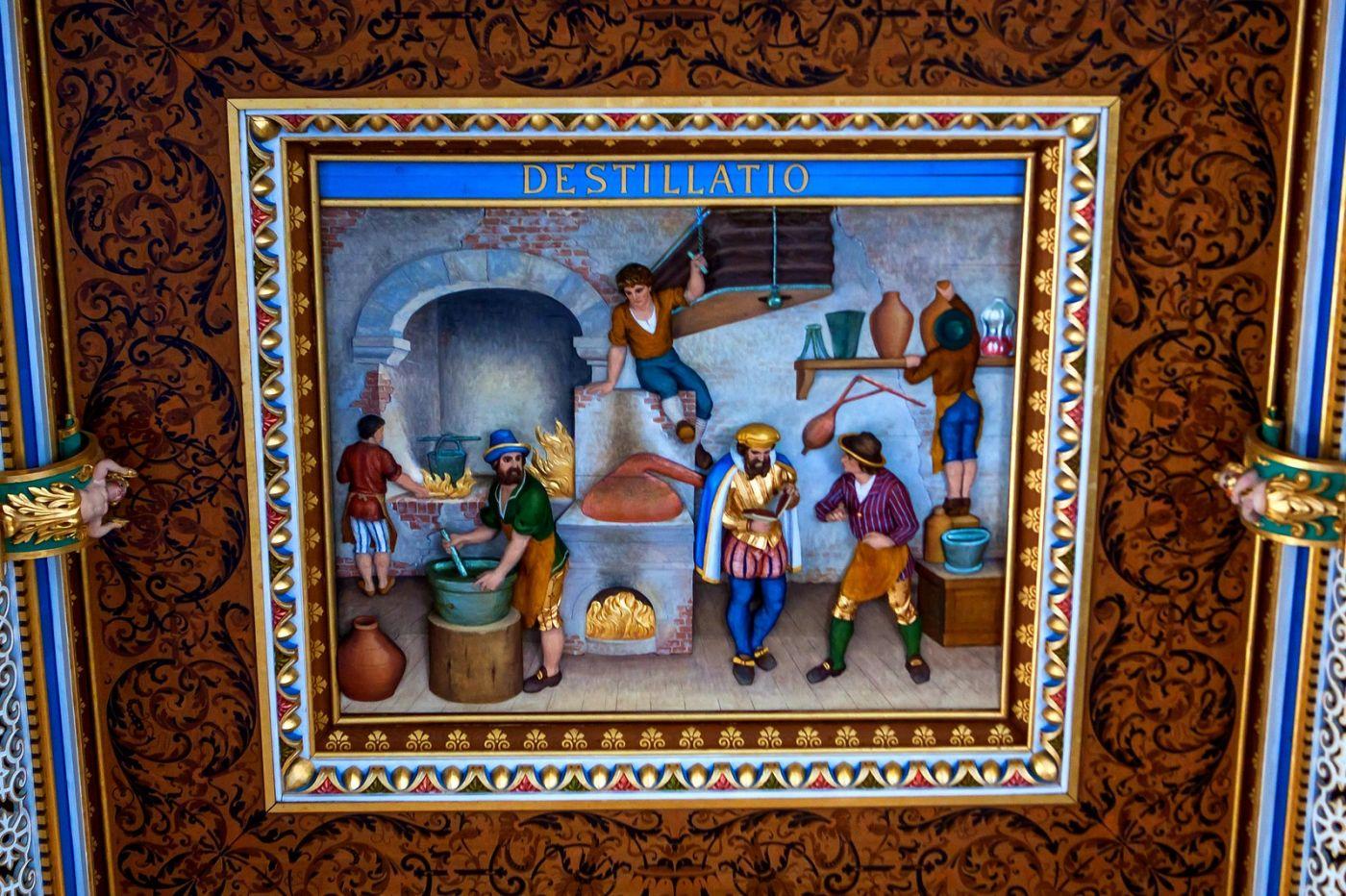 丹麥腓特烈堡城堡,油畫里的故事_圖1-12