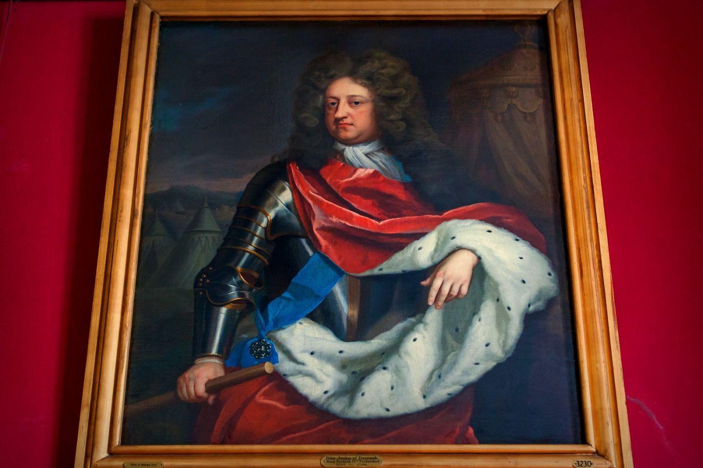 丹麥腓特烈堡城堡,油畫里的故事_圖1-13